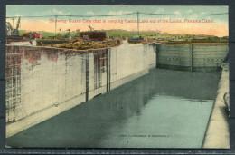 Panama Canal -  Showing Guard Gate That Is Keeping Gatun Lake Out Of The Locks - Panama