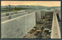 Panama Canal - Lower Gatun Lock - Panama