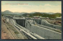 Panama Canal -  A Bird's Eye View Of The Miraflores Locks - Panama