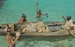 C1960 JAMAICA - SKIN DIVING - Cartes Postales