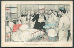 Xavier Sager - Medical Humour - Vous Voyez Cette Femme ...... Postcard - Humour
