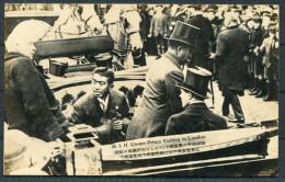 Japan Crown Prince Hirohito Royal Visit To England - Visiting In London - RP Postcard - Royal Families