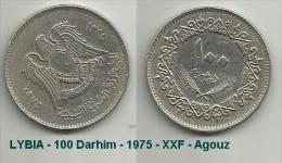 LiBYA - 100 Darhim - 1975 - XXF - Agouz. - Libya