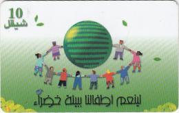 PALESTINE(chip) - Children In A Circle, 09/00, Used - Palestine