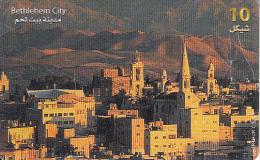 PALESTINE(chip) - Bethlehem City, 01/00, Used - Palestina