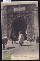 Tunisie Sousse : Porte De La Ville ânier Avec Deux ânes ; Timbre Régence De Tunis Ca 1905 (12´622) - Tunisie