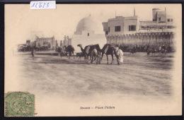 Tunisie Sousse : Place Pichon ; Timbre Régence De Tunis Ca 1903 (12´623) - Tunisie