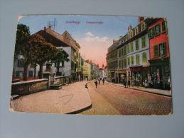 == Saarburg ,Langestrasse  Feldpost  1917 - Saarburg