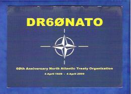 Qsl Radioamateur - Allemagne - DR60NATO -  60 Years North Atlantic Treaty Organization - Radio Amateur