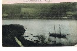 22- Le YAUDET - C.du.N- Vue Du Port - Cpa  Voyagée 1919- SCANS RECTO VERSO - Sonstige Gemeinden