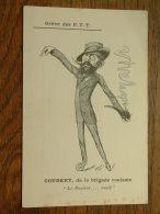 """Grève Des P.T.T. COUDERT, De La Brigade Roulante """" Le Rouleur ....roulé """"  / Anno 19?? ( Voir Photo Pour Detail) ! - Grèves"""