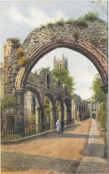 A R QUINTON 2721 - RUINS OF THE PRIORY, CANTERBURY CATHEDRAL - Quinton, AR