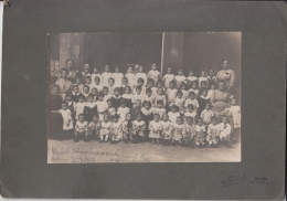 FOTOGRAFIA RICORDO SALVATORINO ASILO ANNI 5-MILANO 25/7/1919 FOTO MALDINI MILANO VIA PLINIO 30 - Persone Anonimi