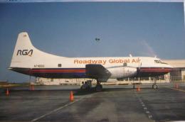 CONVAIR  600   ROADWAY GLOBAL AIR   N74855   RALEIGH DURHAM AIRPORT - 1946-....: Moderne