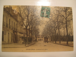 Carte 83 Draguignan Avenue De La Gare - Draguignan
