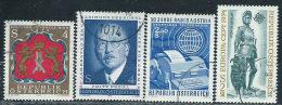 Austria 1973/4 Usato - Mi.1422;1436/7;1450  Yv.1251;1265/6;1279 - 1945-.... 2ème République