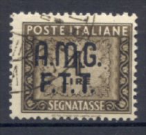 Trieste A 1947 Segnatasse 4£ (Sass.S.8) Usato/Used  VF - 7. Triest