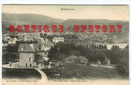 OF < 88 - GERARDMER - Villa Et Vue Prise Des Chenes Rouge - Dos Scanné - Gerardmer