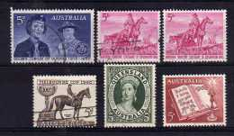 Australia - 1960 - Commemoratives - Used - 1952-65 Elizabeth II : Ed. Pré-décimales