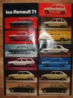 Poster Les Renault 1971 - Cars