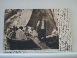 SALON 1905  - ARRIVAGE D'ORANGES (MARSEILLE) - (STE N.) (EDITIONS LL. PARIS N° 14) - Pintura & Cuadros