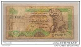 Sri Lanka - Banconota Circolata Da 10 Rupie - 1992 - Sri Lanka