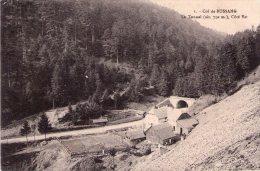 CPA: Col De BUSSANG (Dpt.88):  Le Tunnel, Côté Est.    (9971) - Col De Bussang