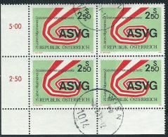 Austria 1981 Usato - Mi.1664  Yv.1493  Bloc 4x - 1945-.... 2a Repubblica