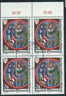 Austria 1981 Usato - Mi.1670  Yv.1499  Bloc 4x - 1945-.... 2a Repubblica