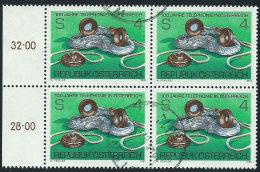 Austria 1981 Usato - Mi.1672  Yv.1501   Bloc 4x - 1945-.... 2a Repubblica