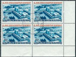 Austria 1981 Usato - Mi.1673  Yv.1502   Bloc 4x - 1945-.... 2a Repubblica