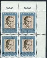 Austria 1981 Usato - Mi.1678  Yv.1508  Bloc 4x - 1945-.... 2a Repubblica