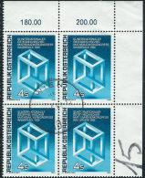 Austria 1981 Usato - Mi.1680  Yv.1509  Bloc 4x - 1945-.... 2a Repubblica