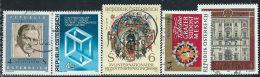 Austria 1981/2 Usato - Mi.1678;1680;1682/3;1697  Yv.1508/9;1511/2;1526 - 1945-.... 2a Repubblica