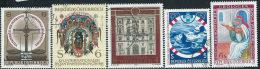 Austria 1981/2 Usato - Mi.1679;1683;1697/8;1702  Yv.1507;1512;1526/7;1531 - 1945-.... 2a Repubblica