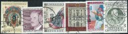 Austria 1981/2 Usato - Mi.1683;1689/90;1697;1702;1704  Yv.1512;1518/9;1525;1531/2 - 1945-.... 2a Repubblica