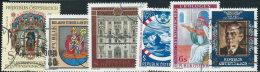 Austria 1981/2 Usato - Mi.1683;1693;1697/8;1702;1723  Yv.1512;1522;1526/7;1531;1552 - 1945-.... 2a Repubblica