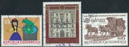 Austria 1981/2 Usato - Mi.1674;1697;1713  Yv.1503;1526;1541 - 1945-.... 2a Repubblica