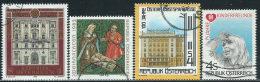 Austria 1982/3 Usato - Mi.1697;1724;1738;1742  Yv,1526;1553;1557;1561 - 1945-.... 2a Repubblica