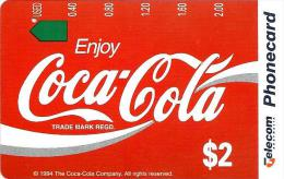 AUSTRALIA $2 COCA COLA HISTORIC IMAGES COKE RIBBON TAMURA AUS-263 NOT SOLD !!READ DESCRIPTION !! - Australia