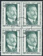 Austria 1983 Usato - Mi.1743  Yv.1572  Bloc 4x - 1945-.... 2a Repubblica