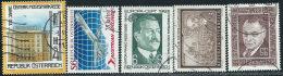 Austria 1983 Usato - Mi.1728;1734;1743;1746;1762  Yv.1157;1563;1572;1575;1591 - 1945-.... 2a Repubblica