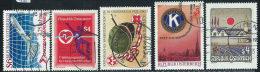 Austria 1983 Usato - Mi.1734;1738/9;1744;1755  Yv.1563;1566;1568;1573;1583 - 1945-.... 2a Repubblica