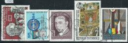 Austria 1984 Usato - Mi.1764;1770;1781;1789;1793  Yv.1593;1599;1610;1618;1623 - 1945-.... 2a Repubblica