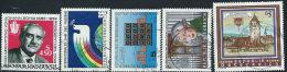 Austria 1986 Usato - Mi.1836/40  Yv.1565/69 - 1945-.... 2a Repubblica