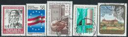 Austria 1986 Usato - Mi.1841/5  Yv.1670/4 - 1945-.... 2a Repubblica