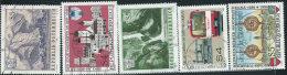 Austria 1986 Usato - Mi.1851/5  Yv.1680/4 - 1945-.... 2a Repubblica