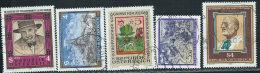 Austria 1986 Usato - Mi.1856/0  Yv.1685/8;1691 - 1945-.... 2a Repubblica