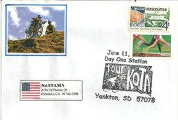 USA. Course Cycliste De Kota, Dakota Du Sud, Année 2005, Enveloppe Souvenir De Yankton (SD) - Ciclismo