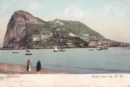 1907 GIBRALTAR - ROCK FROM THE N.W. - Gibraltar